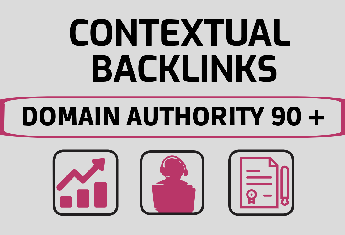 I will help you rank higher on google with high da 90 SEO contextual backlinks
