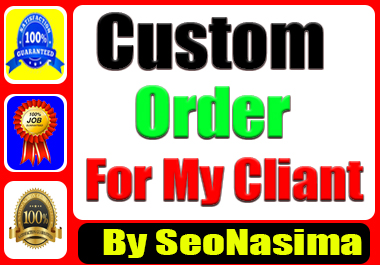 Custom order for my cliant by SeoNasima
