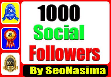 Profile Followers Social Media Marketing Organic