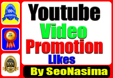 Youtube Marketing Promotion Via Real User& non Drop