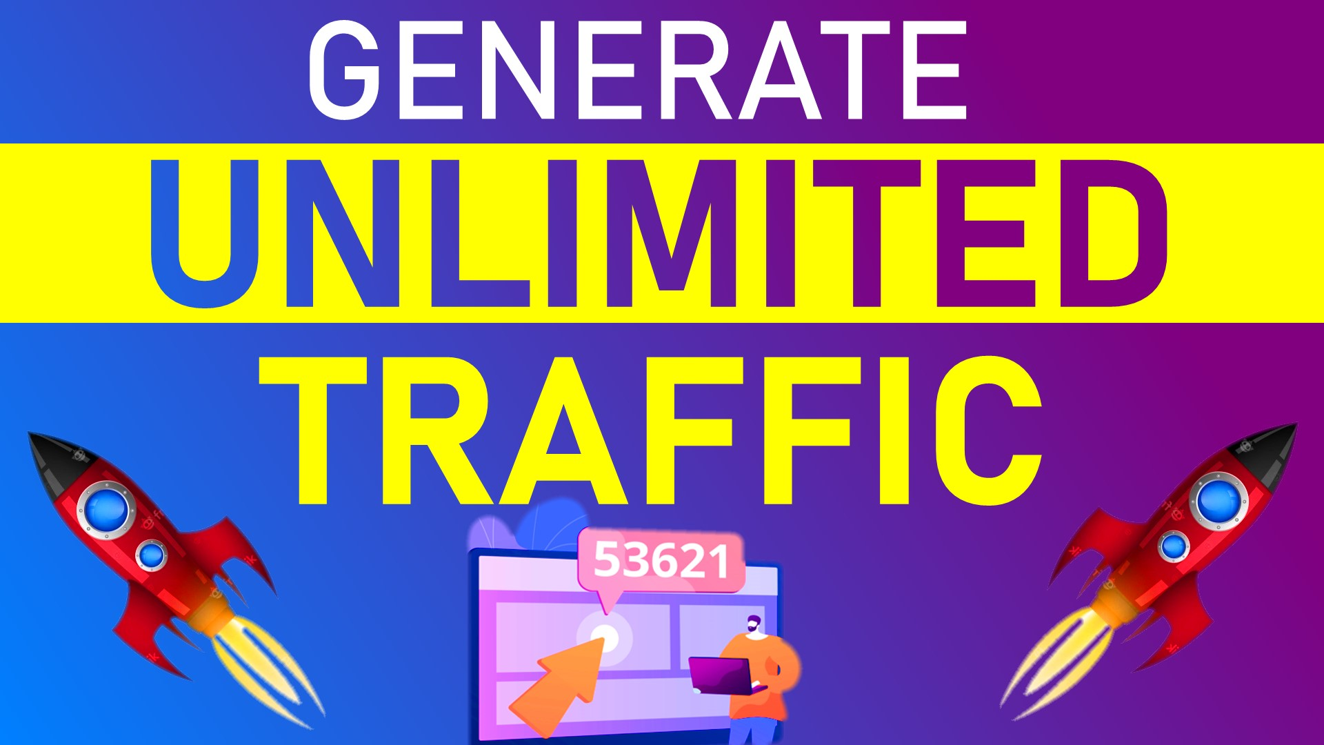Generate Unlimited Traffic for any website No proxies needed