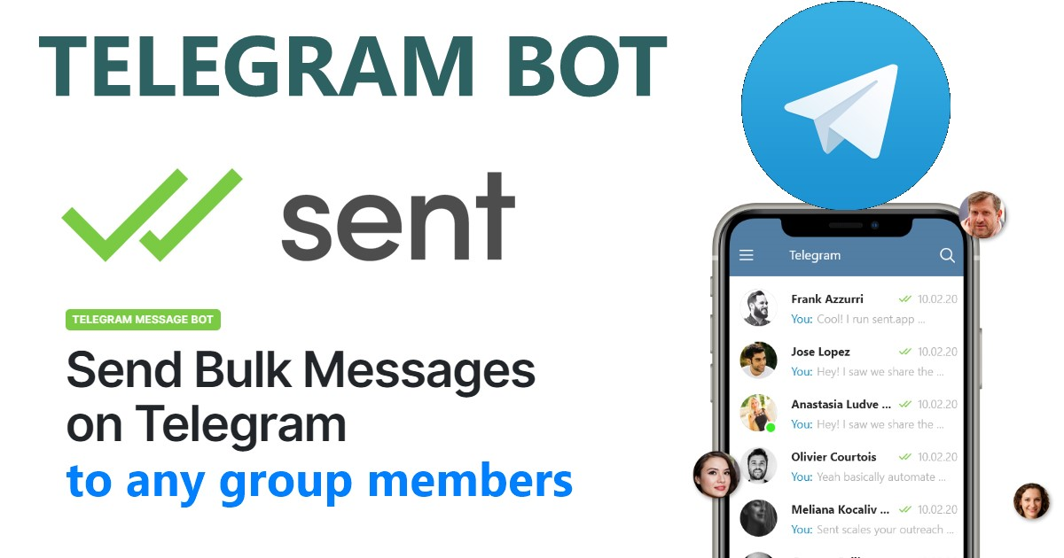 Telegram Bulk Messaging bot - send messages to users in any gr0up, promote your websites instantly