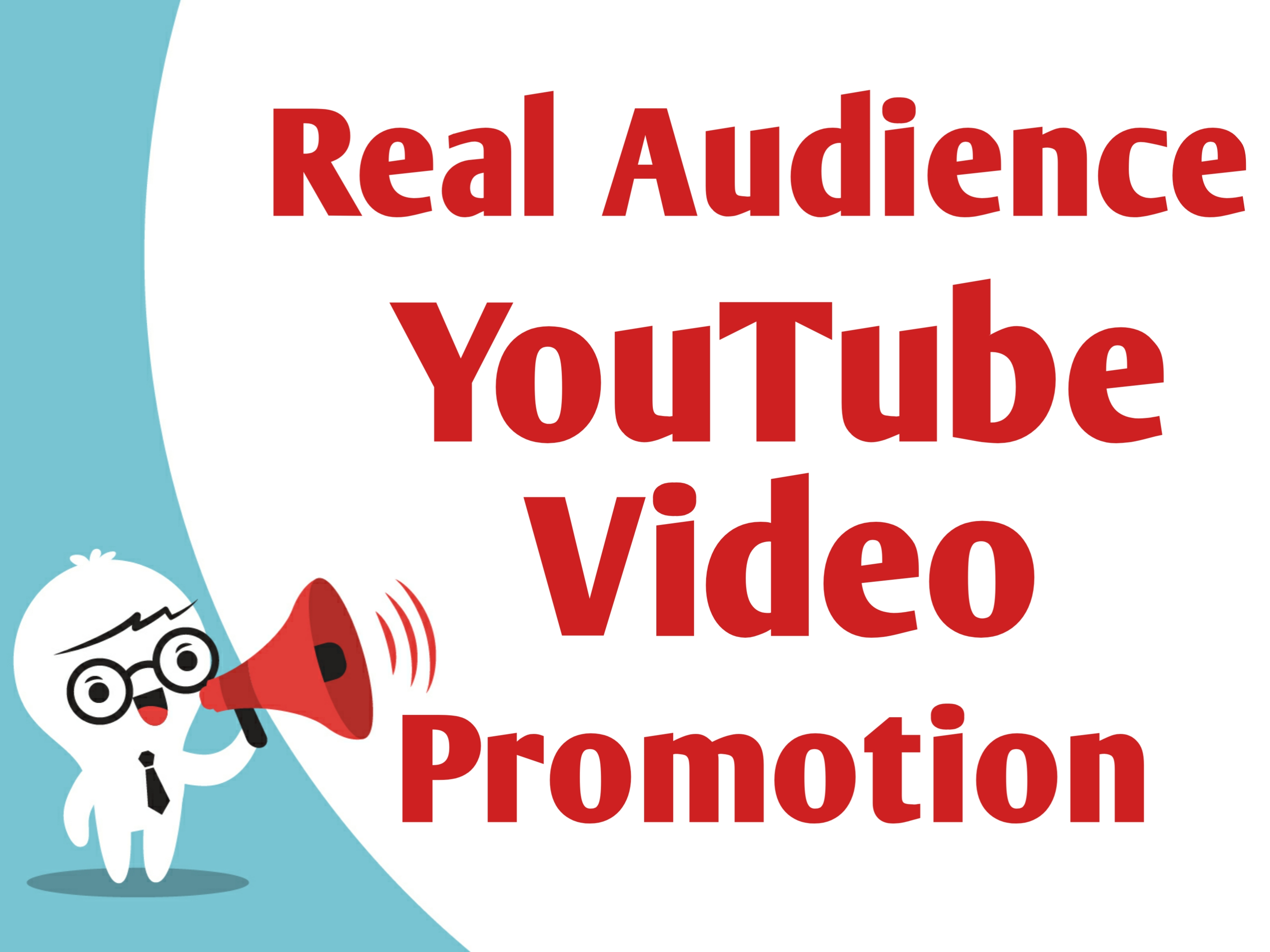 Real and Organic Audience YouTube Video Promotion With Instant Starting