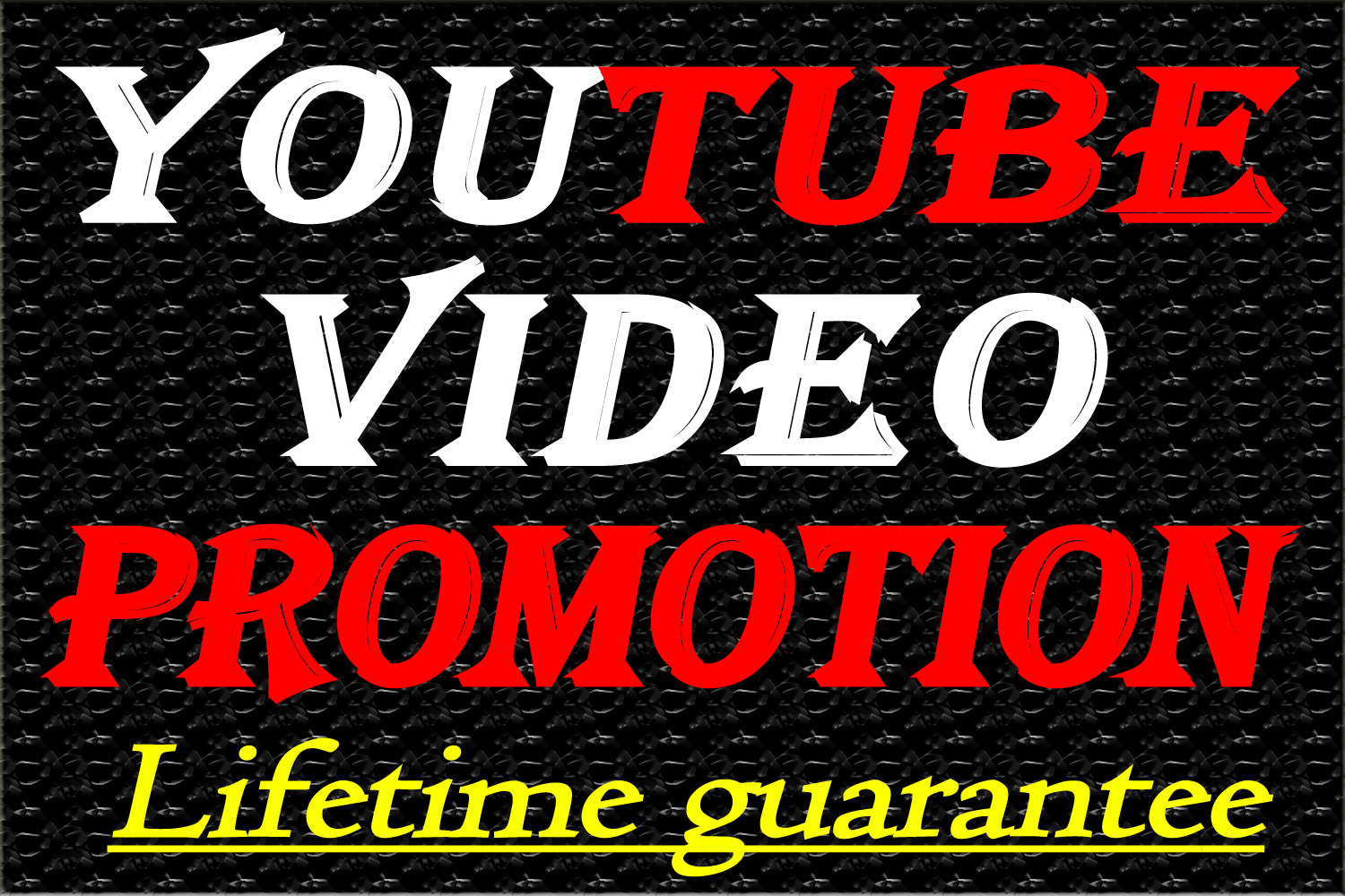 Organic YouTube video promotion Marketing in 24 hours