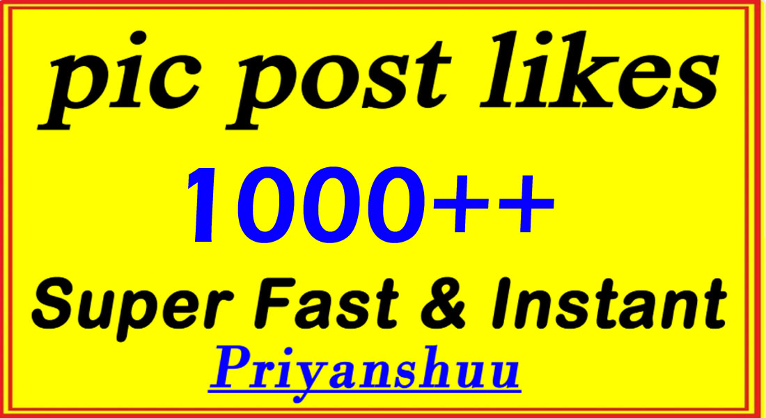 instant 1000 picture post promotion marketing in 1 Hour