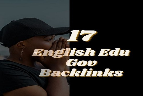 Do 17 English Edu Gov SEO Backlinks