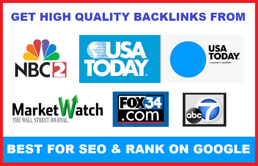 REAL Dofollow Backlinks From NBC USAToday ABC MarketWatch And Fox News To Rank On Google GUARANTEED