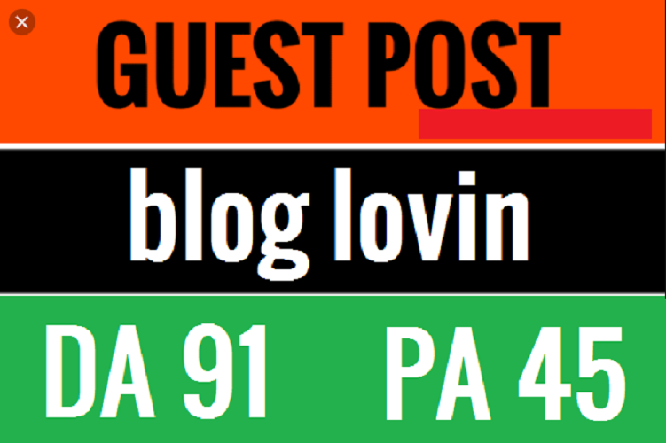 Write and publish guestpost High Quality Do-Folow backlink