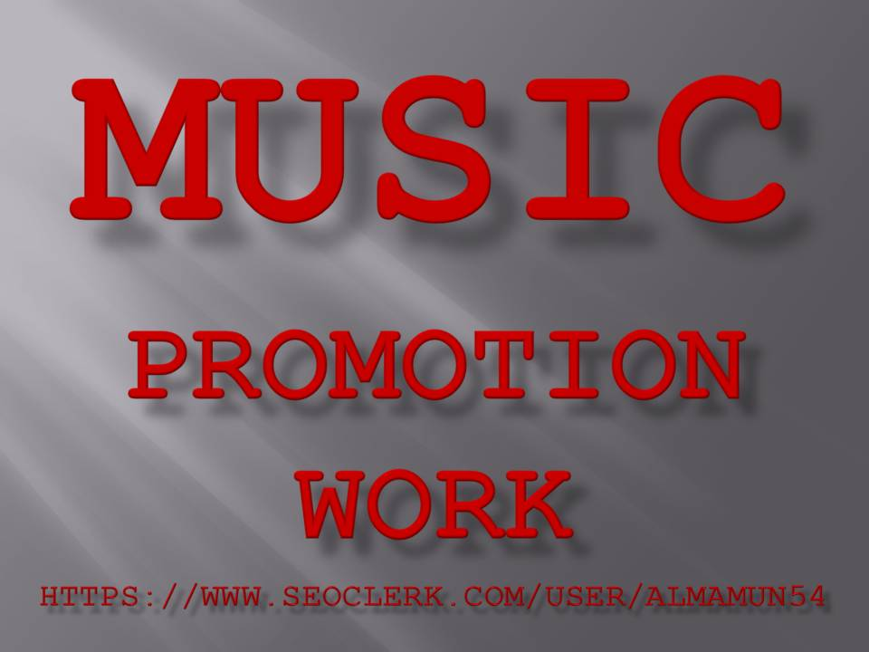High-Quality Music Promotion Service 2020 on Seocheckout