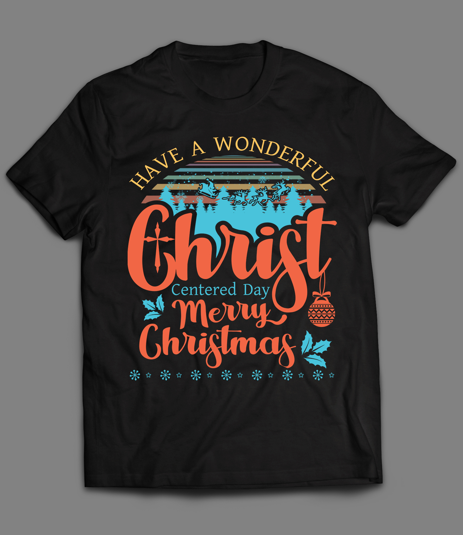 Christmas Amazing T-shirt Design with in 12 hrs with Unlimited Revision