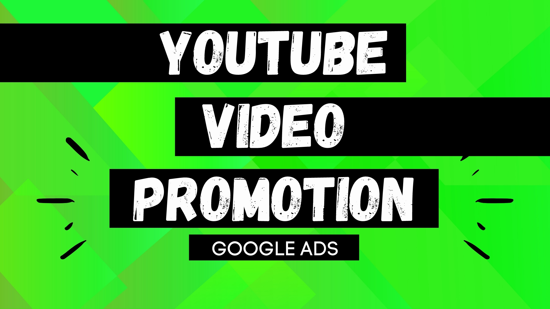 YouTube video promotion by google ads