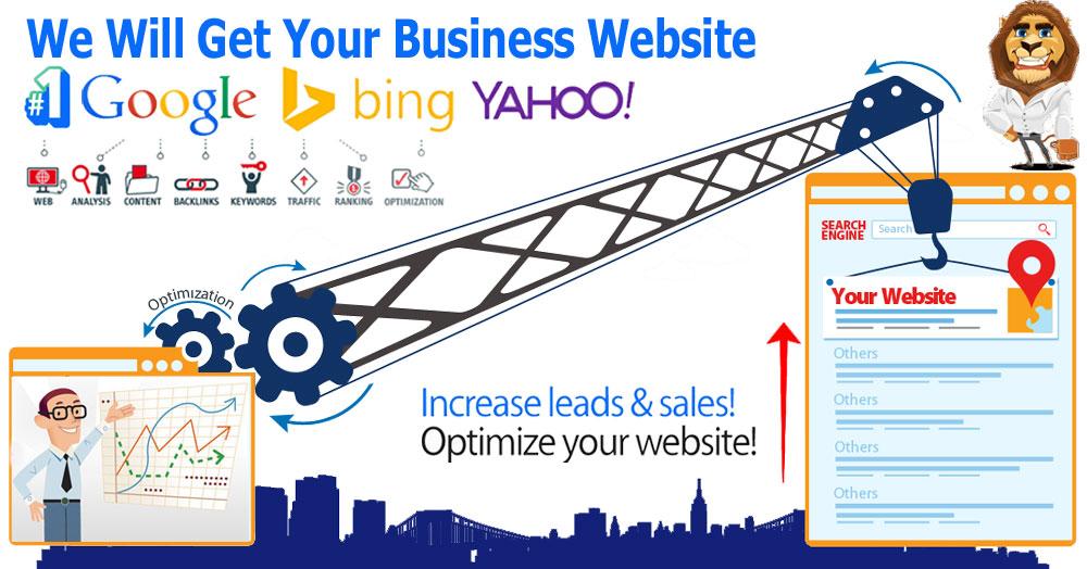 Web Design Company with 100 Million Backlinks SEO Guaranteed google 1st page ranking