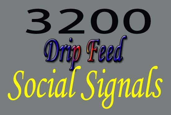 3200 top and best quality SEO social signals