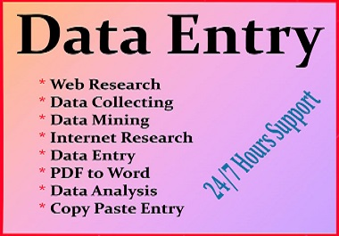 I will be your Virtual Assistant, Web Research, File Transcript