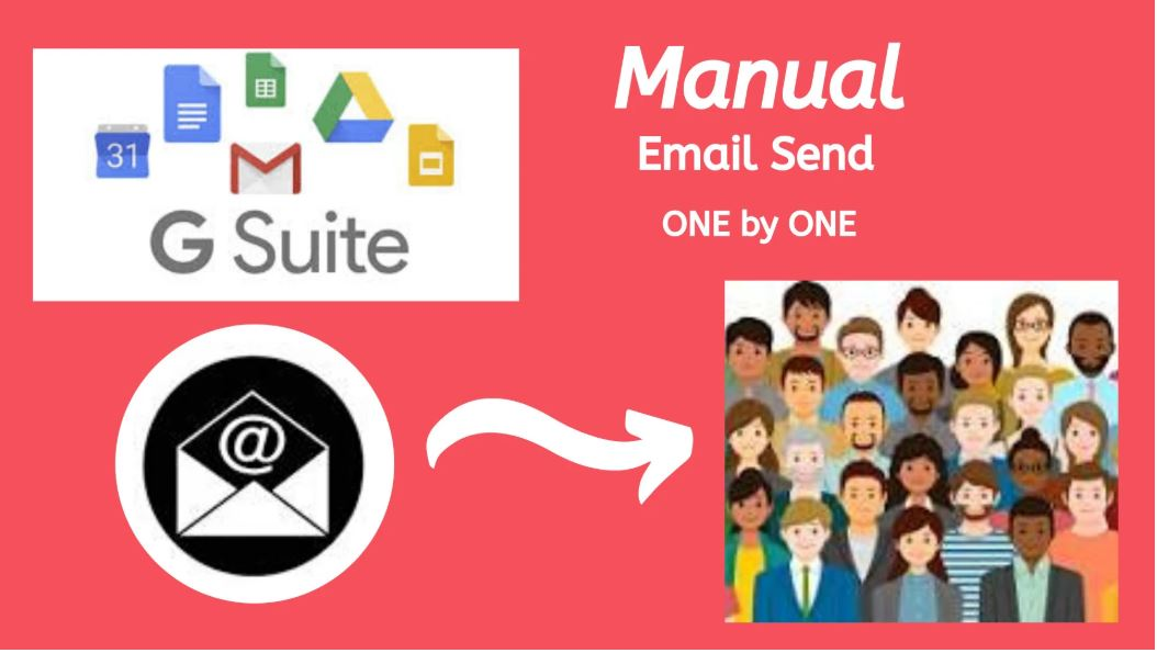 I will send 250 email one by one in a day or more