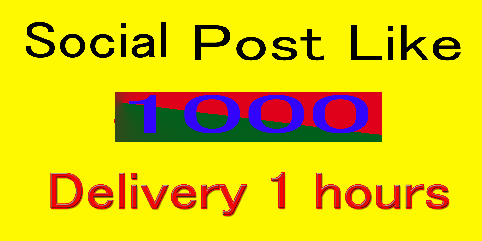 Instantly 1000- 1200 Social Pictures Post Promotion and Marketing in 1 mintus delivery