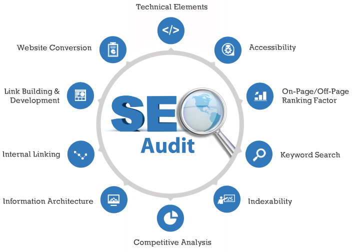 Audit your website and give you complete SEO action p...