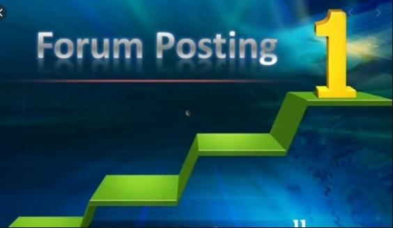 I will do High DA,  PA 50 plus forum posting backlinks
