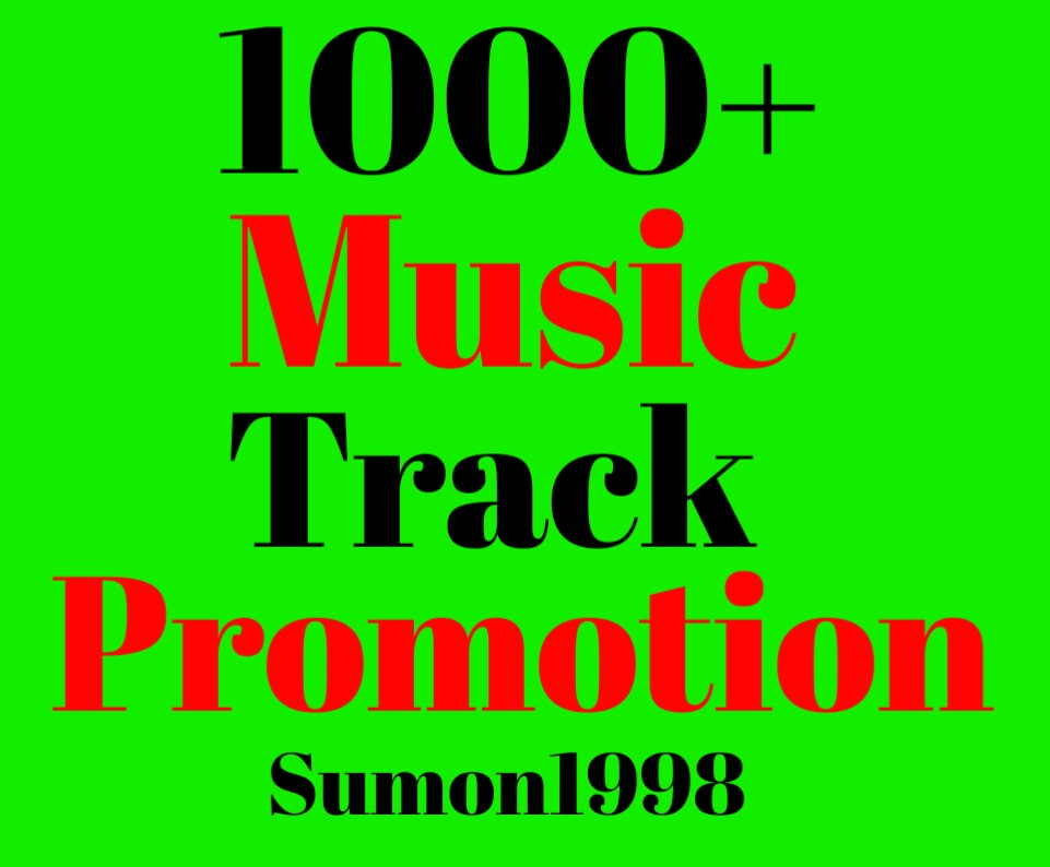 Get Exclusive Organic Music Track Promotion