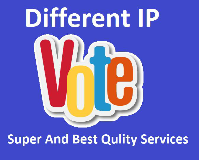provide you to get 250 genuine IP votes poll by real people