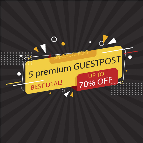 write and publish your 5 guestpost on high authory sites
