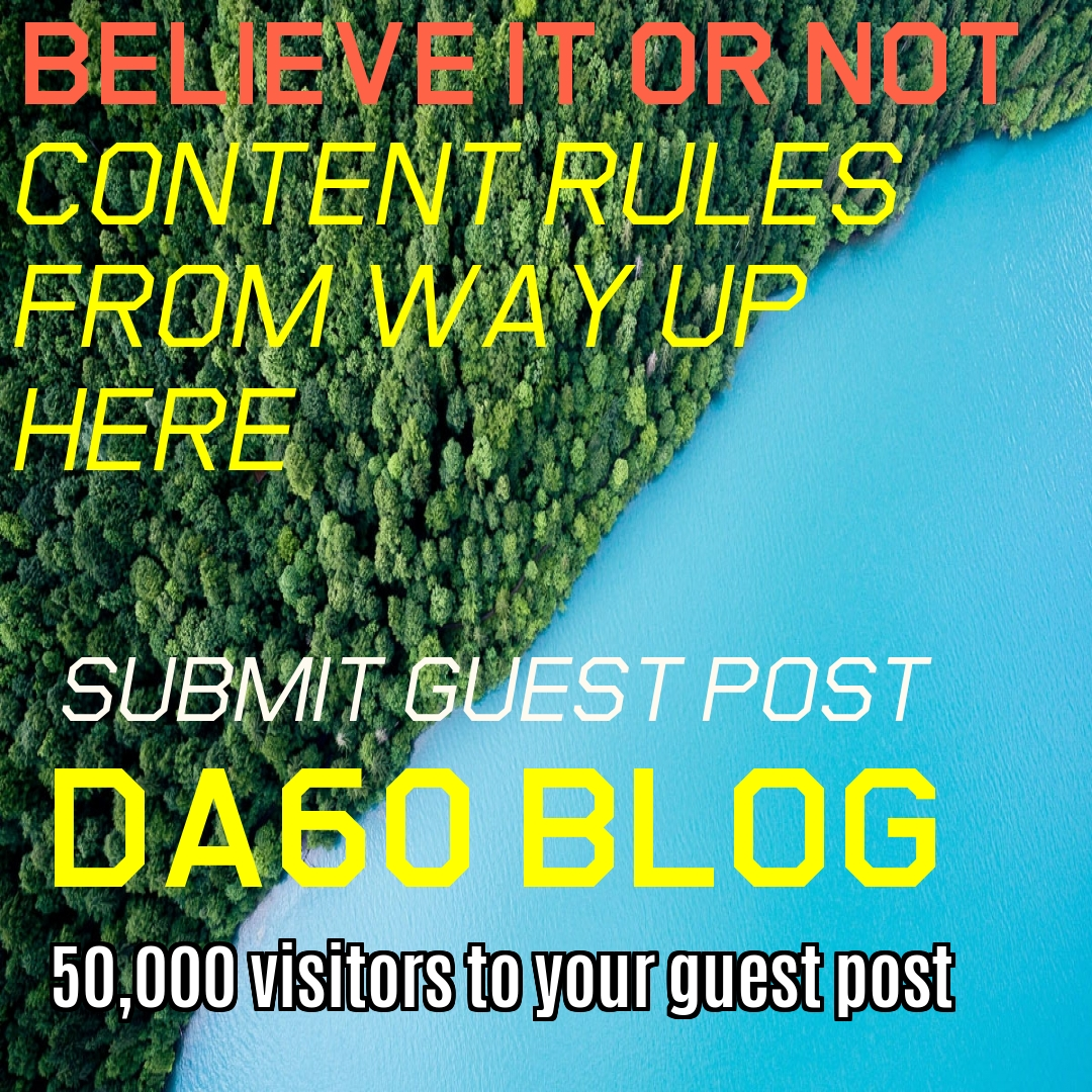 Submit Article DA60 Membership Blog with Dofollow Link