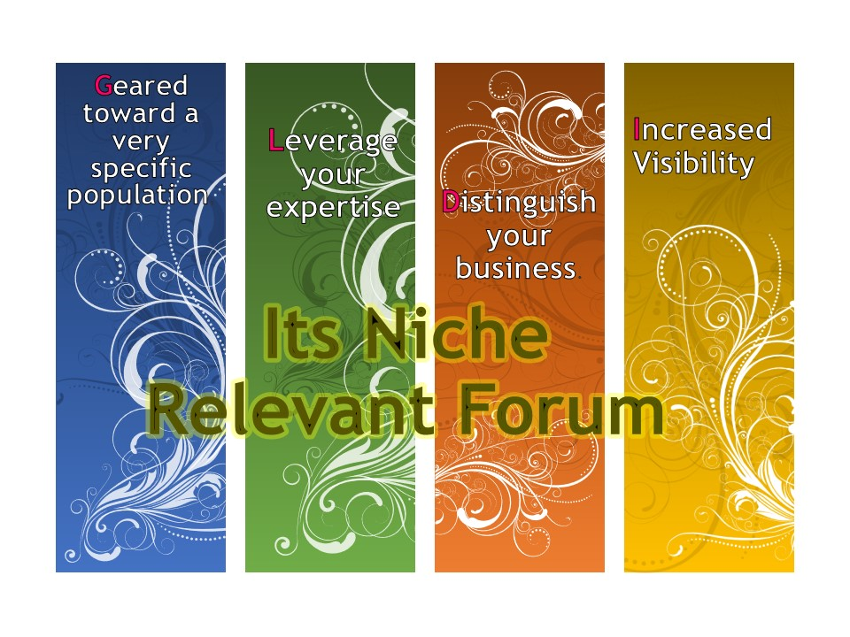 I can do 10 Niche Relevant Forum Posting for your Website