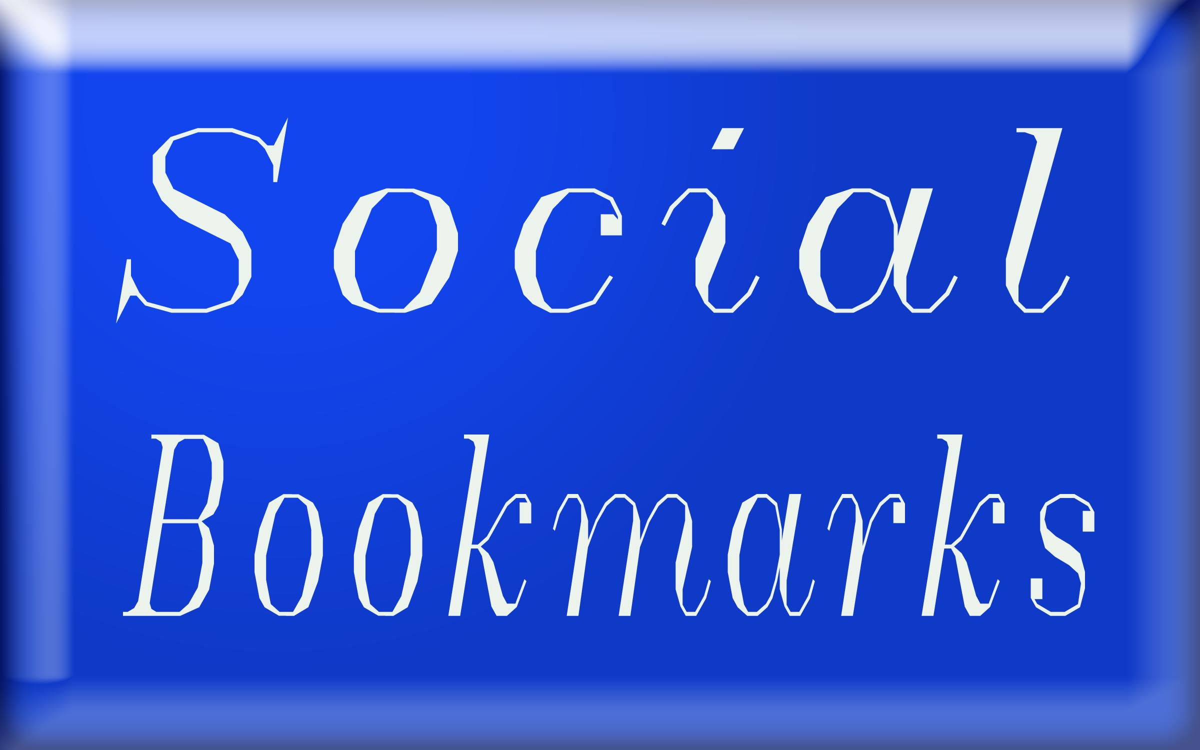121+ Social Bookmarks SEO Backlinks