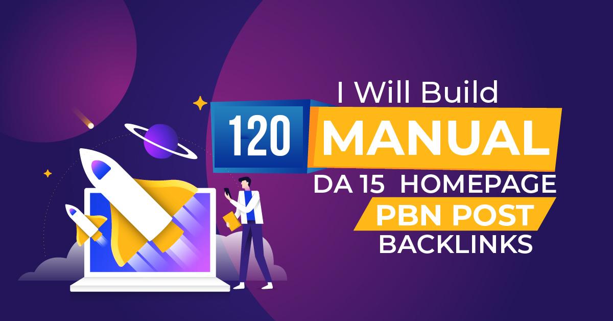 I will 120 high metrics powerful PBN contextual backlinks