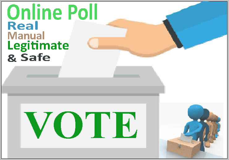 Get you 300 genuine online voting contest votes to any website poll
