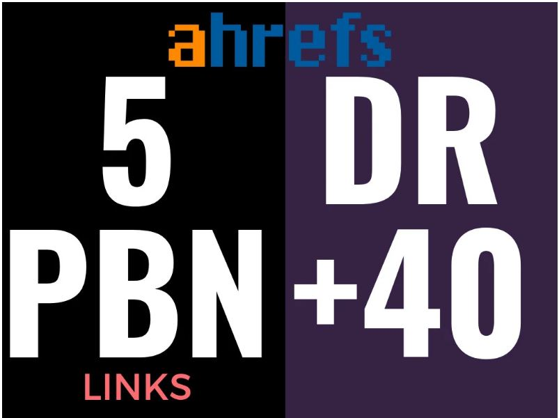 I will make 5 PBN DR50 Dofollow Permanent Homepage PBN Backlinks