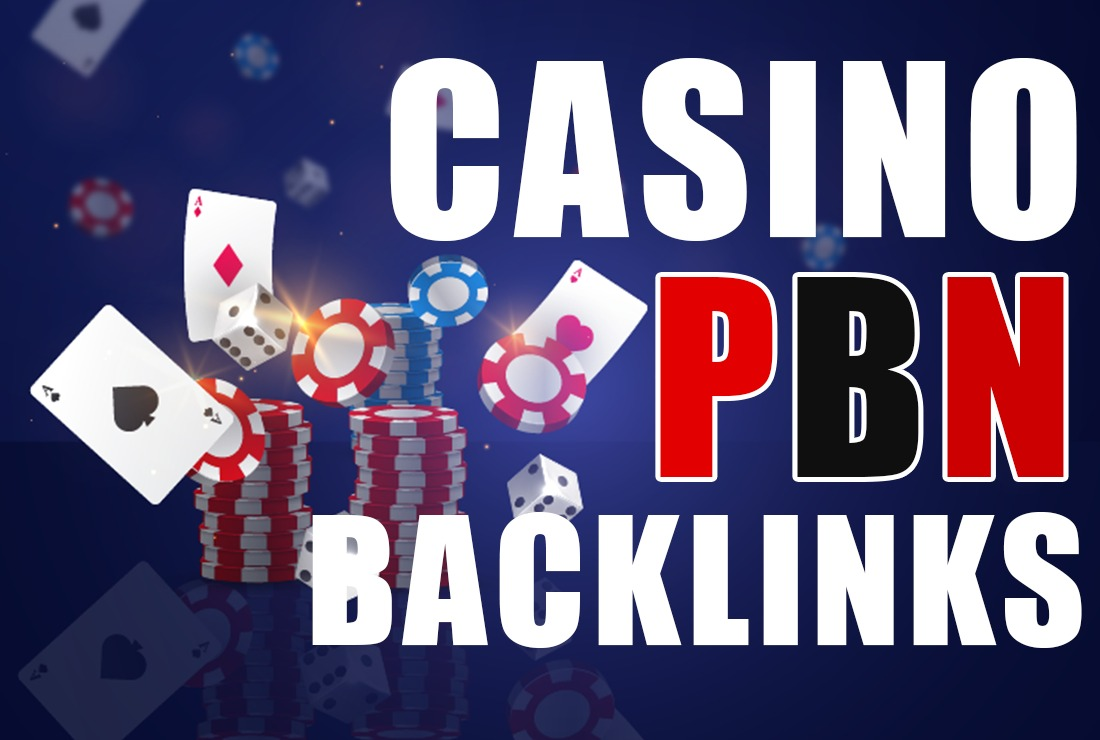I will 20PBN Niche Casino,  Gambling,  Poker,  Judi Related High DA websites for