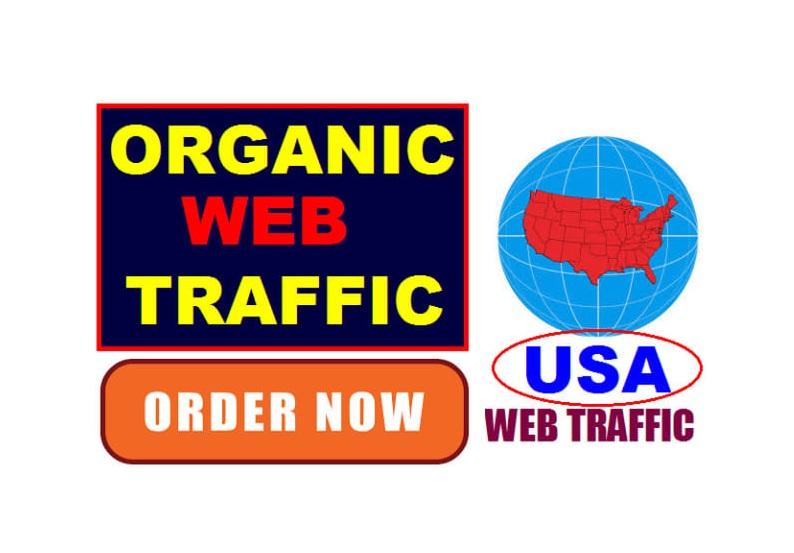 Drive Organic Web Traffic via SEO Backlinks to Real Website Traffic