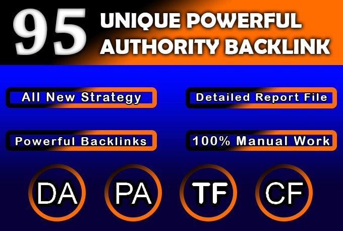 Perfect SEO Service Mixed Powerful High Authority Dofollow Backlinks