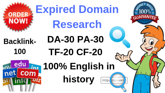 5 High quality expired domain Research for your Specific Niche