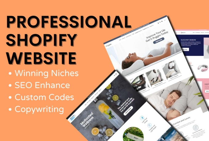 Design Shopify ecommerce and online store contact for price