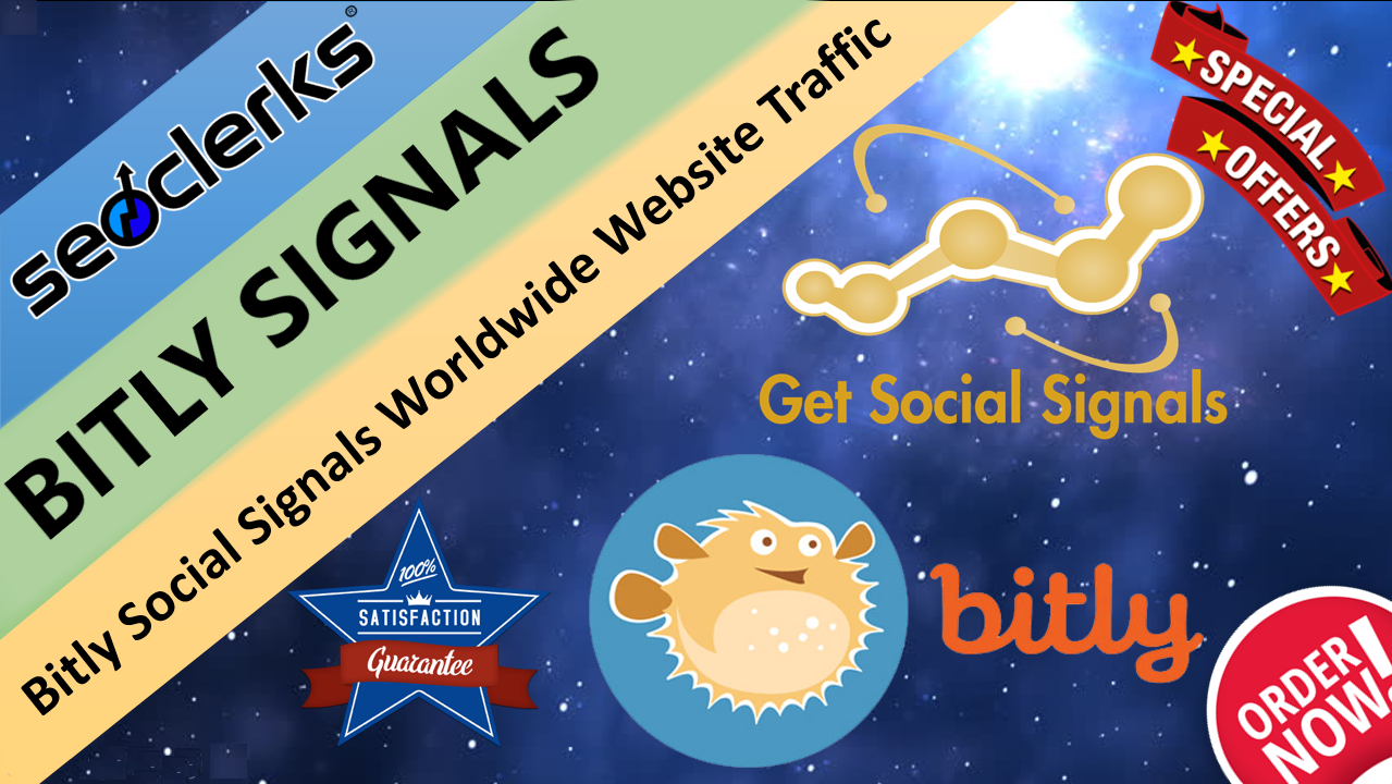 Get 20,000 Bitly Social Signals Important For SEO Google Ranking