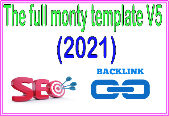 Do The Full Monty Template High-Quality PREMIUM Backlinks To Improvement Your Rank