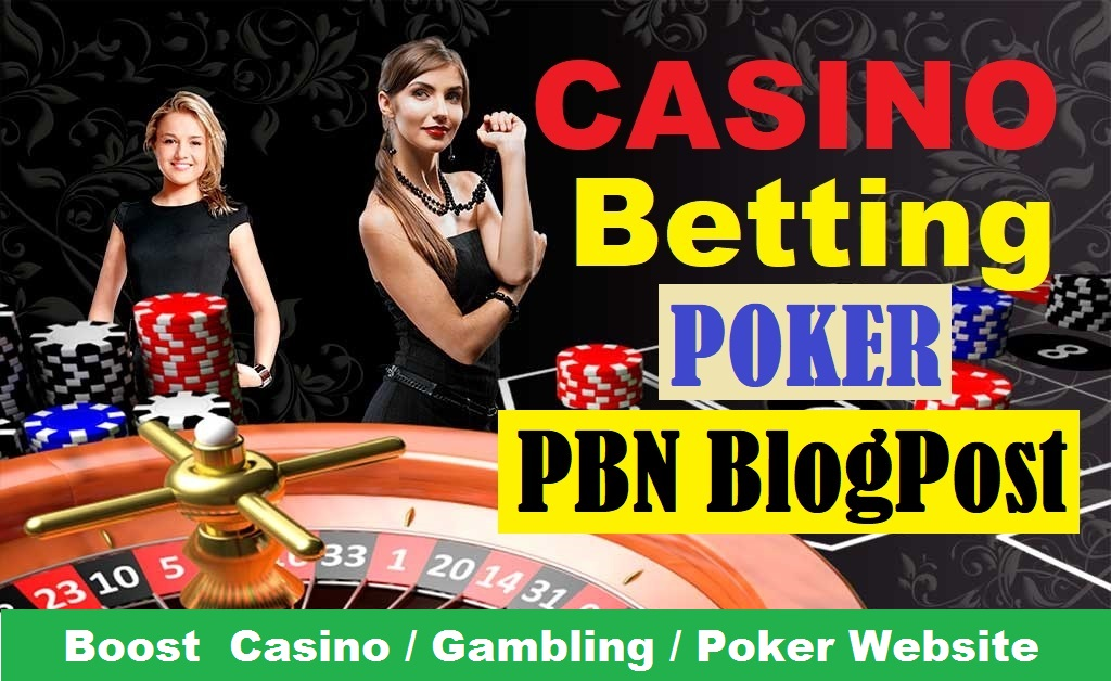 50 PBN CASINO/GAMBLING/POKER Related Homepage PBN for Boost website Google 1st page