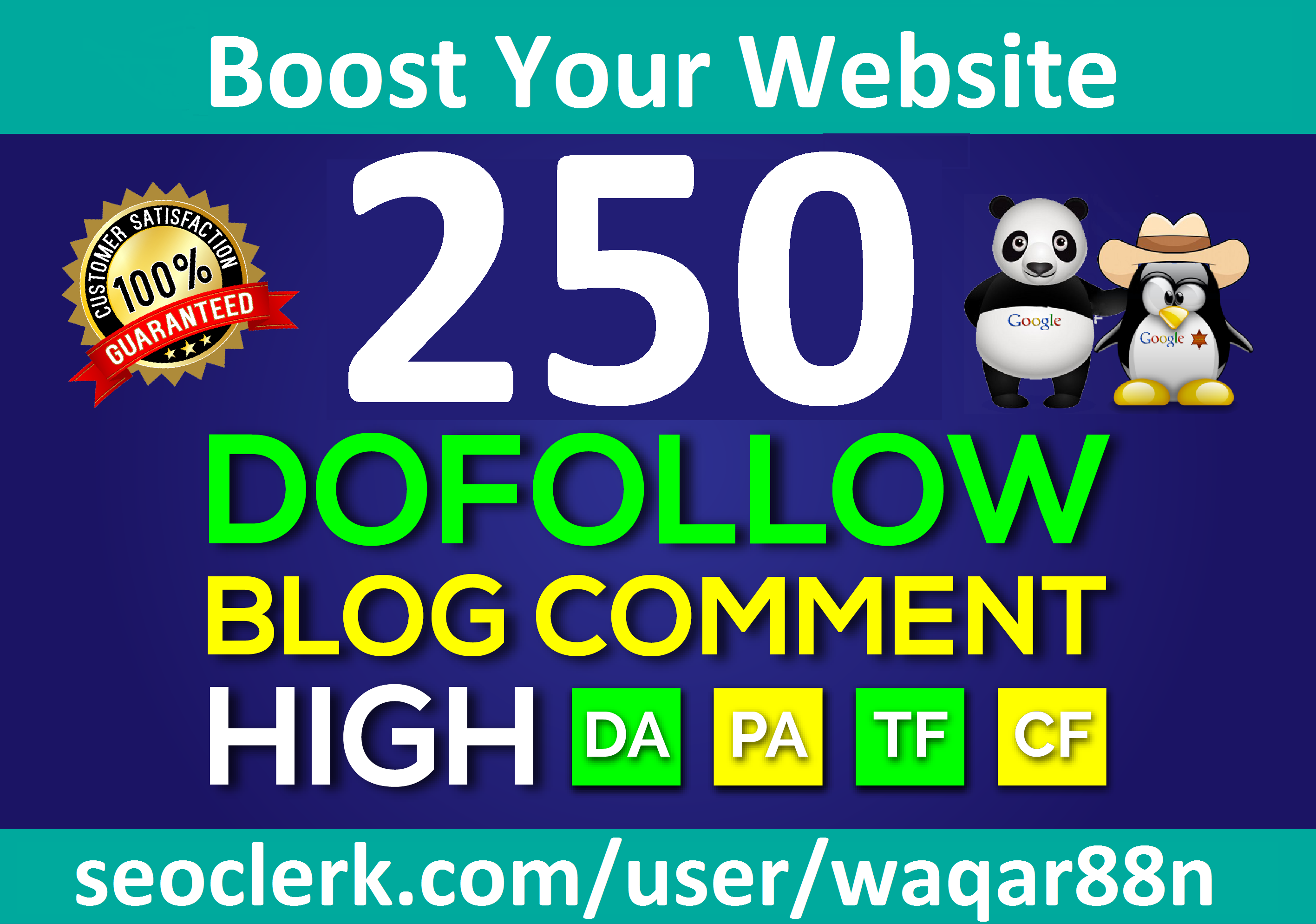 I will Build 250 Dofollow Blog Comments Backlinks On High DA PA