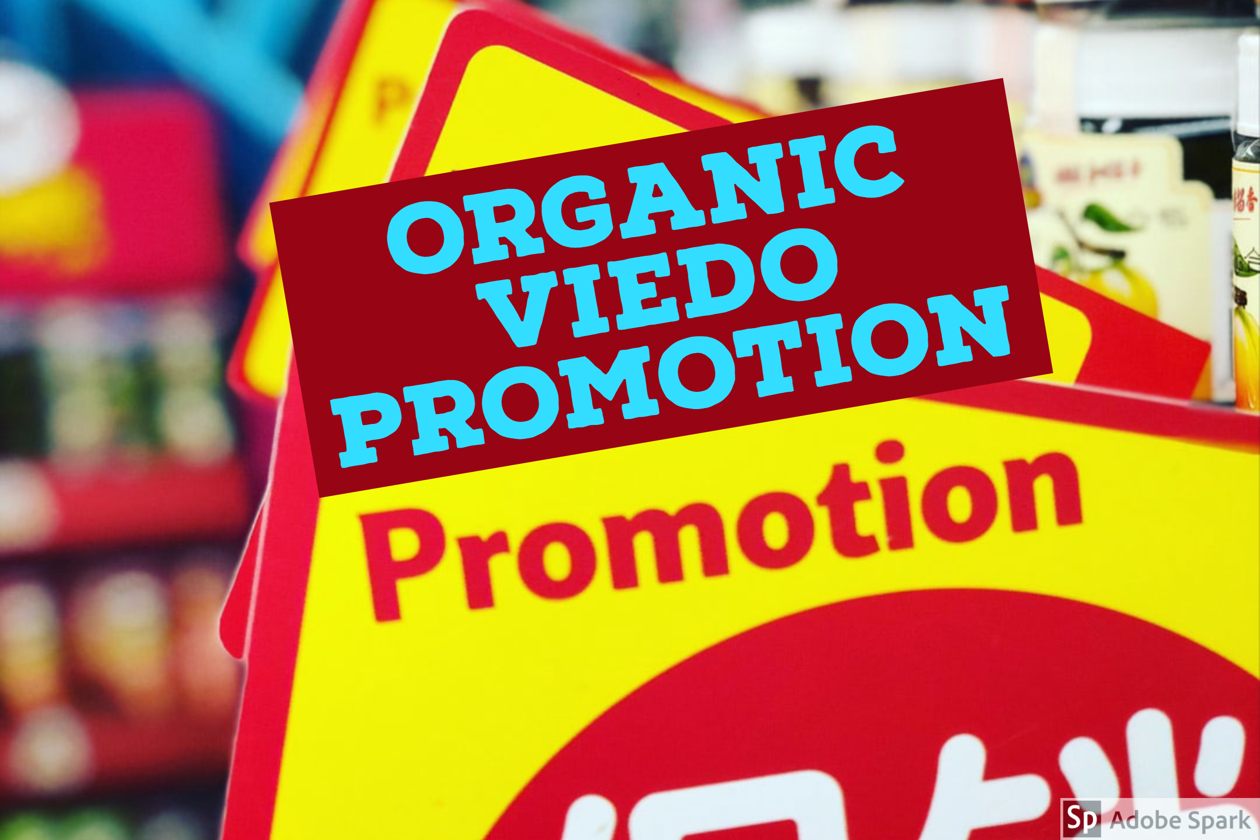 I will promote youtube video organically