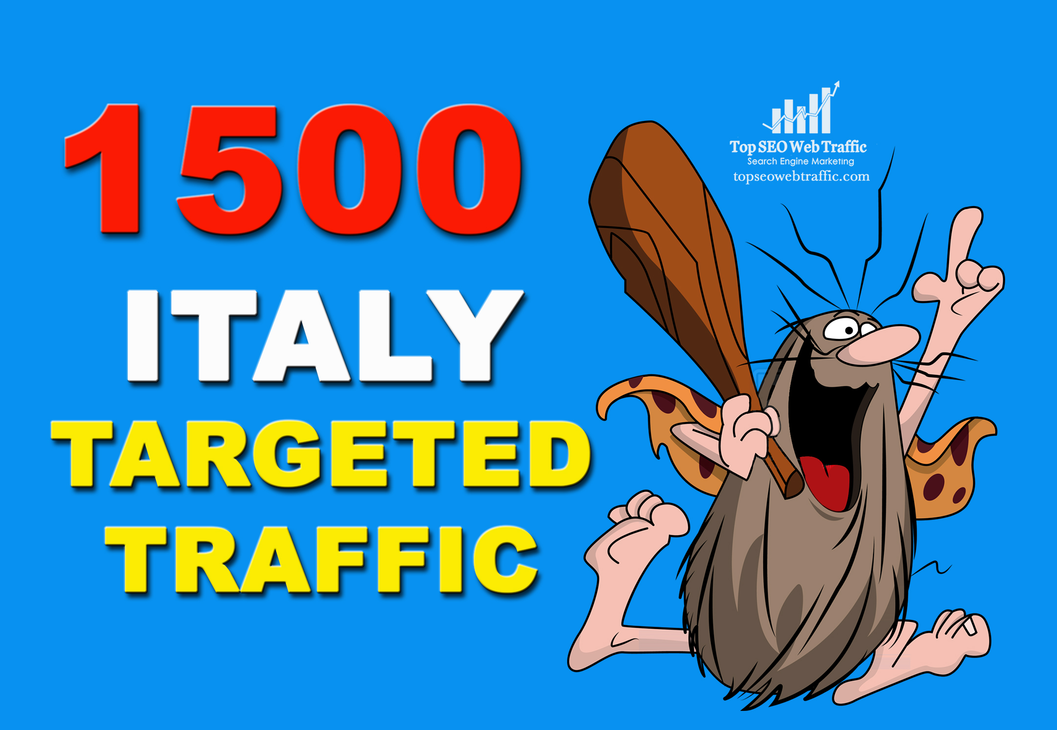 GET 1,500 ITALY WEB TRAFFIC TARGETED VISITORS
