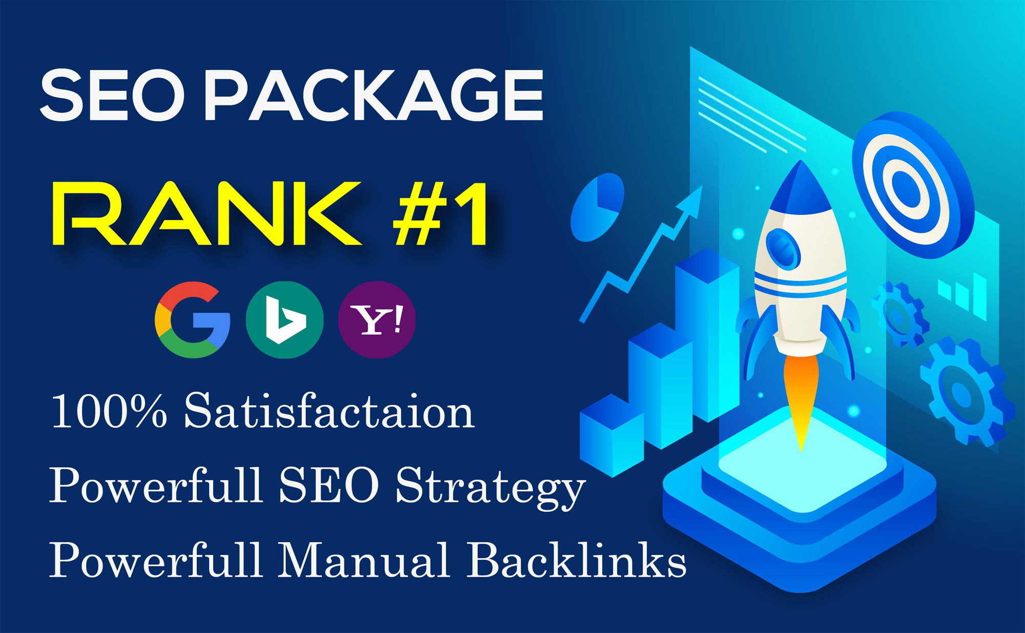 I Will Provide Seo backlink package for your website ranking