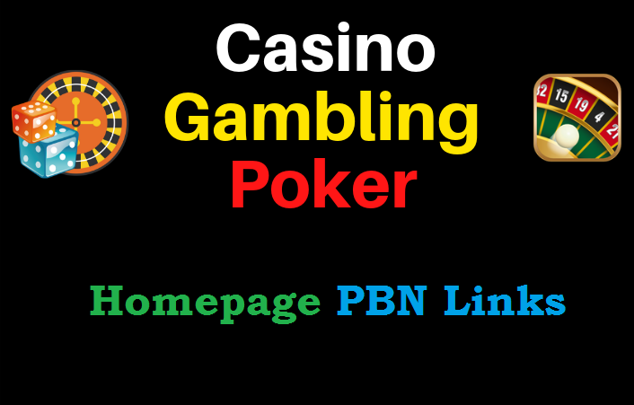 I Will Provide 50 Pbn Home Page Backlinks For UFABET,  Casino,  Gambling,  Poker,  Judi Related Website