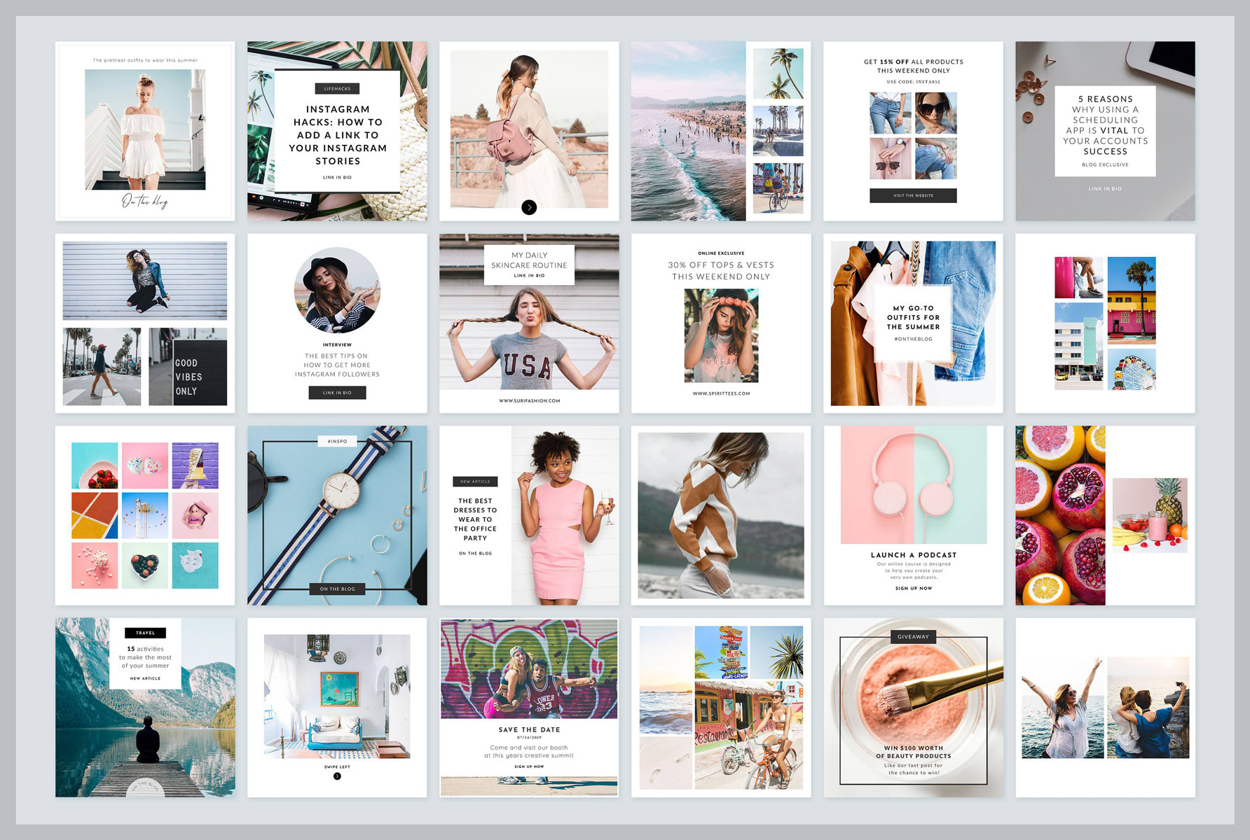 I will design social media posts graphics for facebook or instagram or linkedin