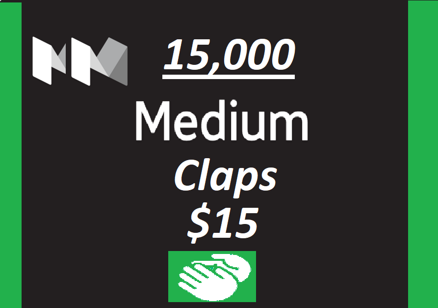 Get you 15,000+ Medium claps to your Article within few hours