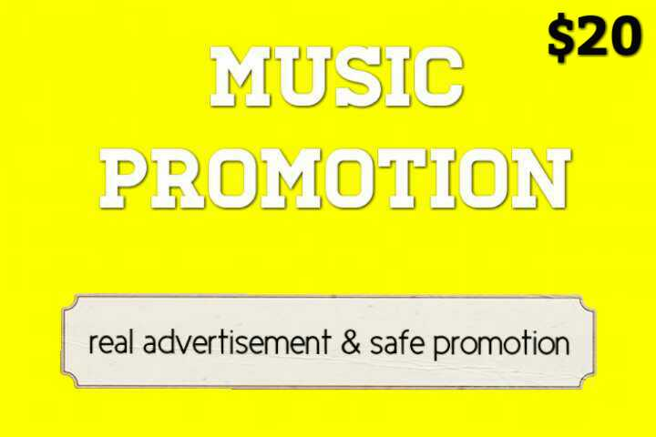 Promote Manually Music Promotion