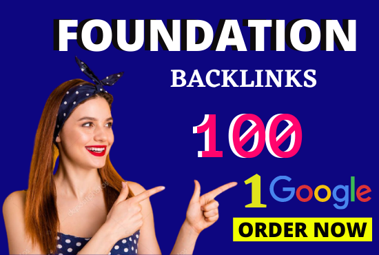 Perfect SEO Strategy with 100 Foundation Off Page SEO Backlinks