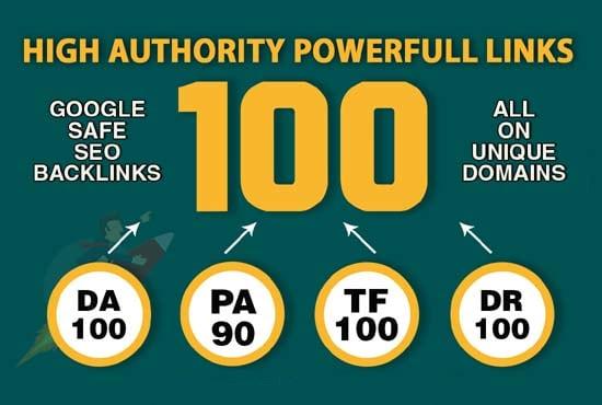 Do High Quality 100 SEO Backlinks For Website Ranking