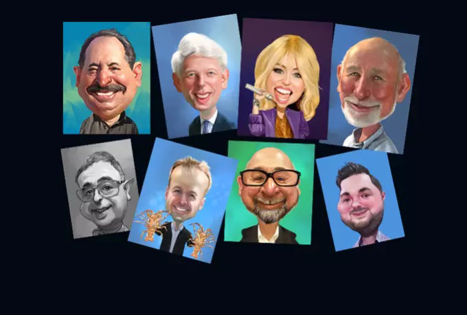 I will draw caricatures from your photo